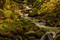 Die Stampfbach-Wasserfälle